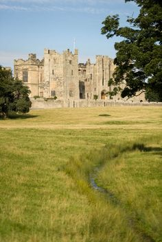 14th century Raby Castle in County Durham, England. Built by the Neville family