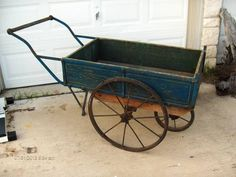 antique flower cart  Wish list for Christmas.  Why can't hubby build something like this?