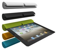 The Zooka Is A Bluetooth Speaker Made Of Silicone That Slides Onto Any  IPad,