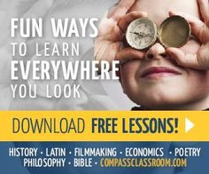 Visual Latin - My kids love it! Learn & Laugh your way thru Latin! One of our Top 5 curriculum Choices Compass Classroom Learning To Relax, Home Learning, Learning Sites, List Of Activities, Family Activities, How To Start Homeschooling, Classical Education, Real Moms, Homeschool Curriculum