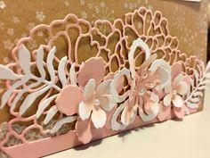HAPPY BIRTHDAY TO YOU, JOLANDA!              STAMPIN' UP! Botanical Builder Framelits & the new so Detailed Thinlits Dies (Spring/Sum...