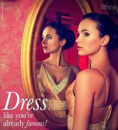 Dress like you're already famous! #confidence #style #dress #famous #classy #fabulous #styling #fashion #FeminaBelieve