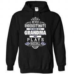 Grandma who plays baseball T Shirts, Hoodies, Sweatshirts. GET ONE ==> https://www.sunfrog.com/LifeStyle/Grandma-who-plays-baseball--1215-7521-Black-Hoodie.html?41382