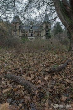 Cool abandoned mansion Would love to restore and live in one of these. Old Abandoned Buildings, Abandoned Castles, Old Buildings, Abandoned Places, Beautiful Ruins, Beautiful Buildings, Beautiful Places, Spooky Places, Haunted Places