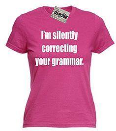 Women's I'm Silently Correcting Your Grammar T-Shirt Clic... https://www.amazon.co.uk/dp/B00DUDMMTQ/ref=cm_sw_r_pi_dp_8XJIxbQPKNXF6