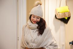 Knitted vest, cardigan and hat - for those nice skiing holidays!