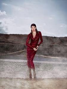 Chic e Fashion: Isabeli Fontana é a estrela de Tufi Duek
