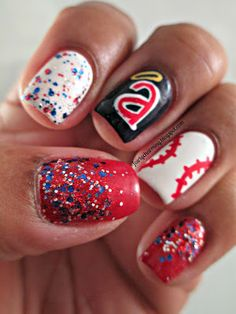49 Best Nails Sports Images On Pinterest In 2018 Baseball Nail