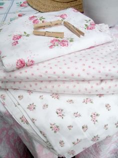 Summer  Pink Roses Cotton sheets