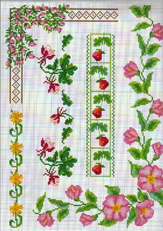 Wild Rose #cross stitch 7/5/13#Afs 7/5/13