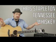 Chris Stapleton - Tennessee Whiskey - Guitar Lesson - How To Play Super Easy Beginner Acoustic Basic Guitar Lessons, Acoustic Guitar Lessons, Guitar Lessons For Beginners, Guitar Tips, Guitar Songs, Guitar Chords, Acoustic Guitars, Music Lessons, Guitar Classes