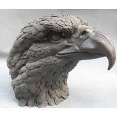 bird sculptures - Google Search Bird Sculpture, Animal Sculptures, Bronze Sculpture, Ceramic Animals, Ceramic Birds, Dog Anatomy, Modelos 3d, Toy Art, Animal Heads