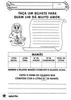 PROFª - MARISTELA REZENDE DE ARAÚJO DANTAS: ATIVIDADES PARA O DIA DAS MÃES - PARTE 2