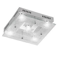 EEK A+, LED-Deckenleuchte Brooks - Metall / Glas - 5, Action Jetzt bestellen unter: http://www.woonio.de/produkt/eek-a-led-deckenleuchte-brooks-metall-glas-5-action/