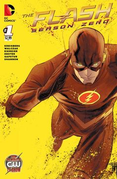 The Flash Season 0 #1 variant cover by Francis Manapul
