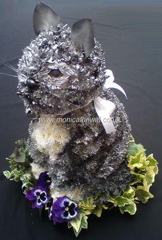 Cat Funeral Flowers Monica F Hewitt Florist Sheffield