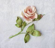 Тонировка розы Мастер класс Галимовой Алсу