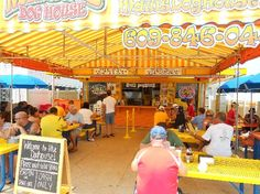 Maui's Dog House, Wildwood, NJ. It is a necessary stop at least twice a summer.