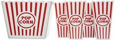 Enjoy popcorn at home like you do at the movies! Perfect for family movie night, sleepovers, any time! No more jumping up to make extra popcorn…the jumbo tub can hold up to 4 popped microwave bags. The individual tubs hold 3-4 cups of popcorn and are easy for little hands to control ~ this... - http://kitchen-dining.bestselleroutlet.net/product-review-for-plastic-popcorn-tubs-for-movie-night-1-jumbo-tub-and-4-individual-tubs/