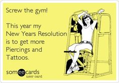 This is more like me and this is a New Years resolution that Ill actually keep