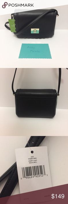 NWT Kate Spade Maple Court Zani in Black NWT Kate Spade Maple Court Zani in Black! This crossbody bag is perfect for ALL occasions and can be dressed up or down! It is brand new with tags and in perfect condition! kate spade Bags Crossbody Bags