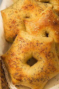 Potato Bagel Stars