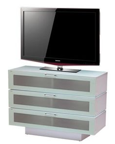 Stil Stand White Gloss TV Cabinet - STUK4001-3