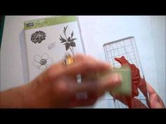 Stampin' Up! Two Minute Quick Tip: Conditioning Solid Image Stamps