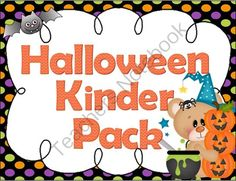 A cute and fun Halloween activity pack for kindergarteners. It's 109 pages of hand's on fun created by Creative Learning Fun. ($)