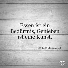 #Essen #Bedürfnis #Genuss