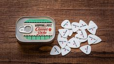 Canned Guitar Picks by the Whipping + Post - http://DesireThis.com/587 @Angel Cravens   For your mannnn. (;