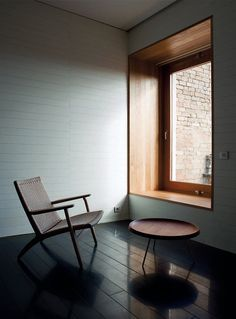 Atrio Relais-Châteaux, located at St Matthews Square in Caceres. The chair, model CH-25 by Hans J. Wegner, 1950, Denmark.