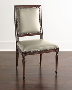 Ingram Leather Dining Chair, D3, Brown