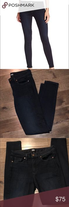 Women's Paige Hoxton Ultra Skinny Jeans Size 29  Inseam 29 inches PAIGE Jeans Skinny