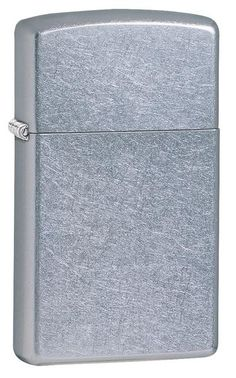 Zippo Slim Street Chrome Lighter - Oxeme Gifts