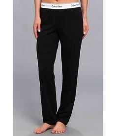 Calvin Klein Underwear Modern Cotton Lounge Pant Black - 6pm.com