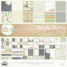 Simple Stories - Hello Baby (Retired), Baby Boy or Baby Girl