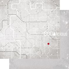 SODAlicious paper ► subway station/ under my feet