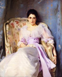 "John Singer Sargent's ""Lady Agnew of Lochnaw"" 1893"
