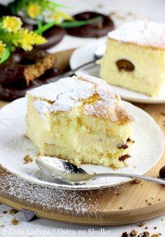 SERNIK GOTOWANY Z PIERNICZKAMI NA BISZKOPCIE Polish Recipes, Polish Food, Cheesecake, Cooking Recipes, Kitchens, Polish Food Recipes, Cheesecakes, Chef Recipes