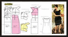 ModelistA: Basic Peasant top Dress