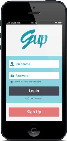 Login Screen Forgot Password, Mobile App, Apps, Mobile Applications, App, Appliques