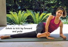 Side lying leg kicks - exercises for Brazilian butt - IMAGES - Women's Health & Fitness