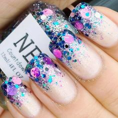 Love these nails! Creative and sexy nails go with any outfit! #Nails #Beauty #Fashion #AmplifyBuzz Visit AmplifyBuzz.com