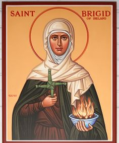 Saint Bridget of Kildare Roman Catholic Church, in Pacific, Missouri, USA - icon