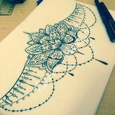 lotus mandala underboob tattoo - Recherche Google