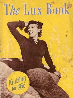 The Lux Book - Knitting for 1936.