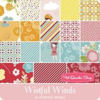 Wistful Winds Fat Quarter Bundle Doohikey Designs for Riley Blake Designs