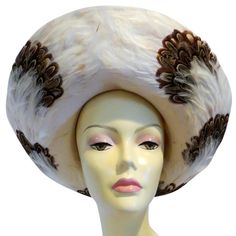 Jack McConnell Boutique Felt Hat with Feather Trim - Ivory. Free shipping and guaranteed authenticity on Jack McConnell Boutique Felt Hat with Feather Trim - IvoryJack McConnell Boutique Felt Hat with Feather Trim...