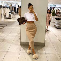 Fashion 2019 New Moda Style - fashion Cute Swag Outfits, Dope Outfits, Classy Outfits, Stylish Outfits, Fall Outfits, Fashion Outfits, Fashion Clothes, Miami Outfits, Fashion Hats
